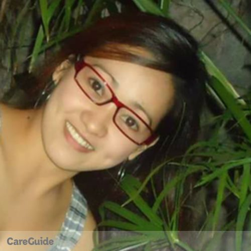 Canadian Nanny Provider Maria Claracay's Profile Picture