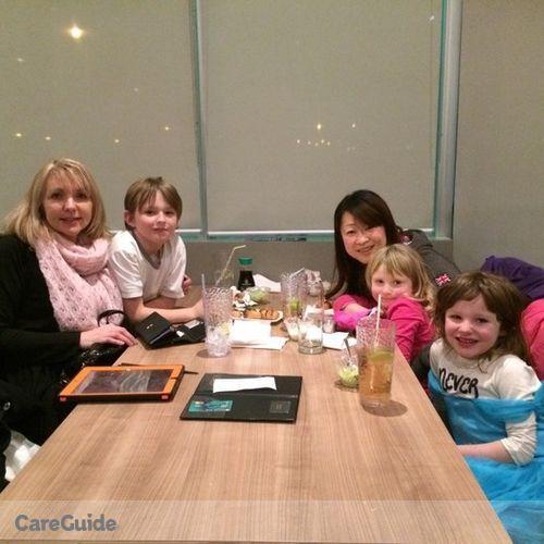 Canadian Nanny Provider Eri Kashimoto's Profile Picture