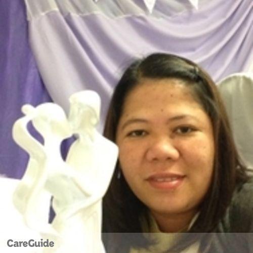 Canadian Nanny Provider Regibe Balsomo's Profile Picture