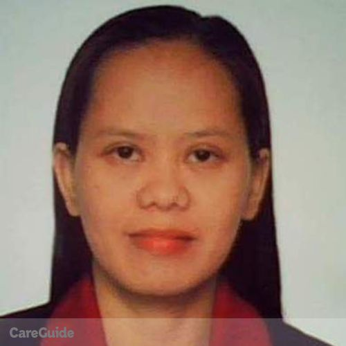 Housekeeper Provider Maryann Cadua's Profile Picture