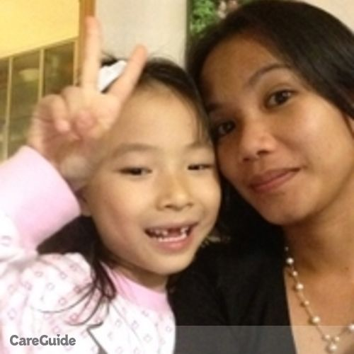 Canadian Nanny Provider Jennilyn Tello's Profile Picture