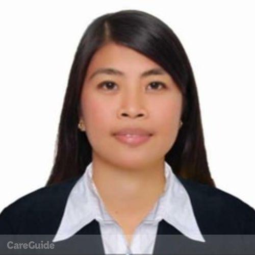 Canadian Nanny Provider Zoraida Salaver's Profile Picture