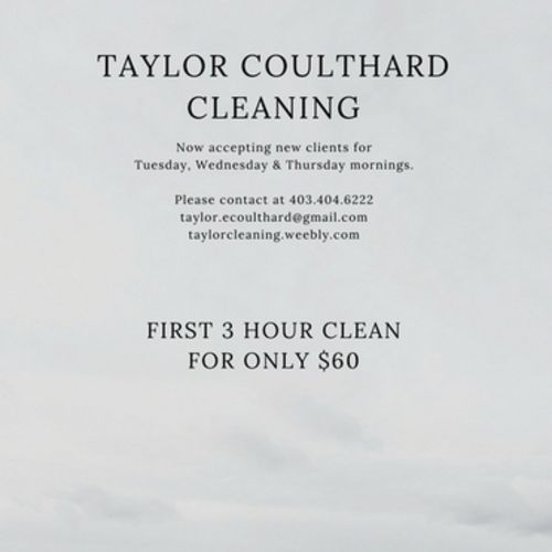 Housekeeper Provider Taylor Coulthard's Profile Picture