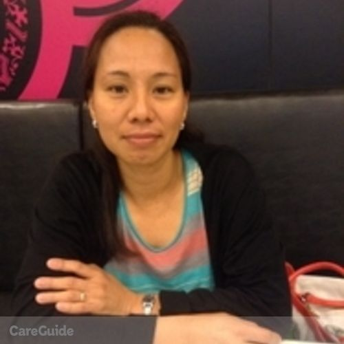 Canadian Nanny Provider Maricel B's Profile Picture