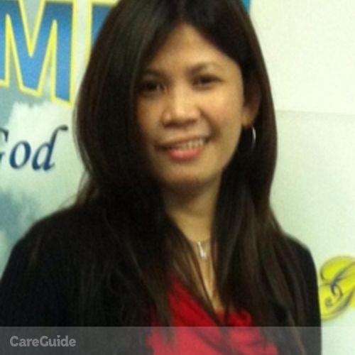 Canadian Nanny Provider Arlen Estayo's Profile Picture