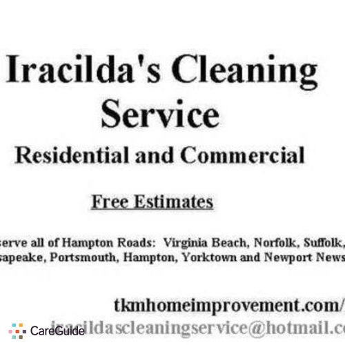 Housekeeper Provider Iracilda W's Profile Picture
