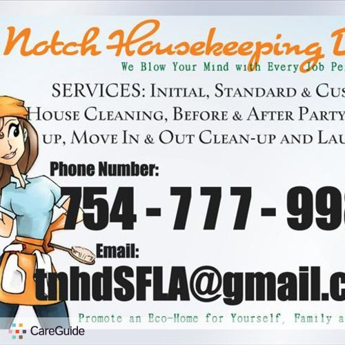 Housekeeper Provider TopNotch HousekeepingDiva's Profile Picture
