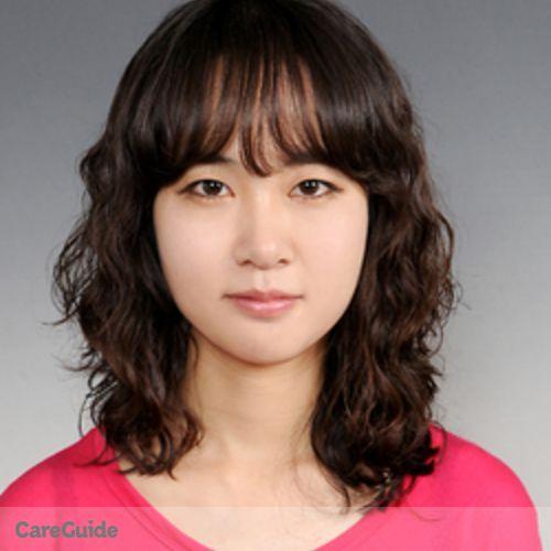 Canadian Nanny Provider Sunny Kim's Profile Picture