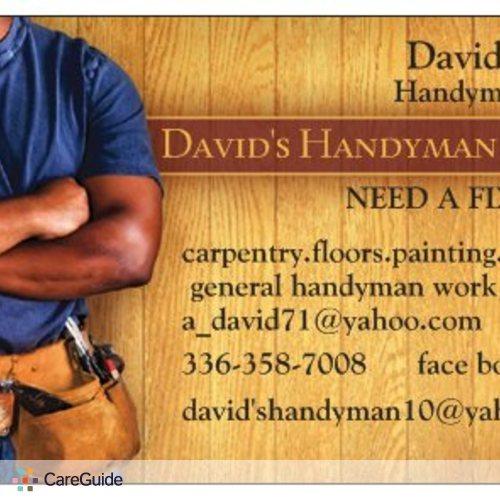 Handyman Provider David A's Profile Picture
