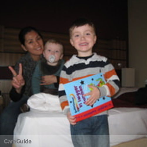 Canadian Nanny Provider Aileen C's Profile Picture