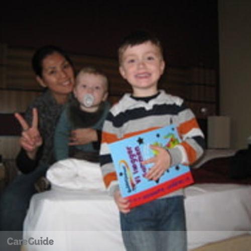 Canadian Nanny Provider Aileen Crisostomo's Profile Picture