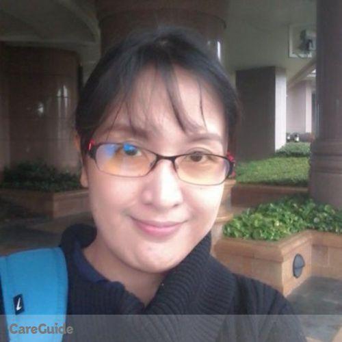 Canadian Nanny Provider Maria Theresa Quinto's Profile Picture
