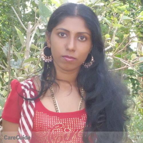 Canadian Nanny Provider Kagila Kody Sivalingam's Profile Picture