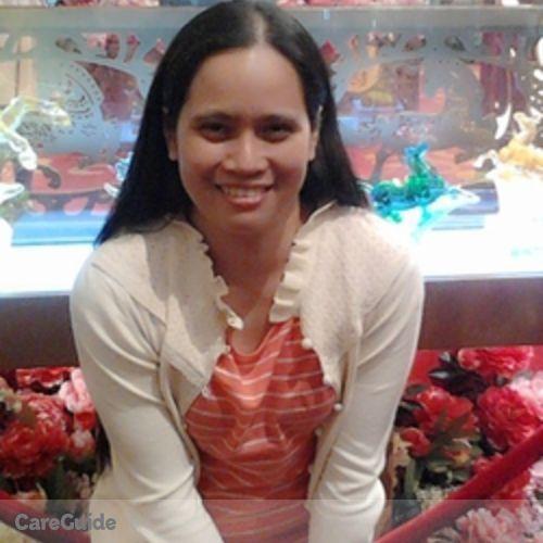 Canadian Nanny Provider R Olimpo's Profile Picture