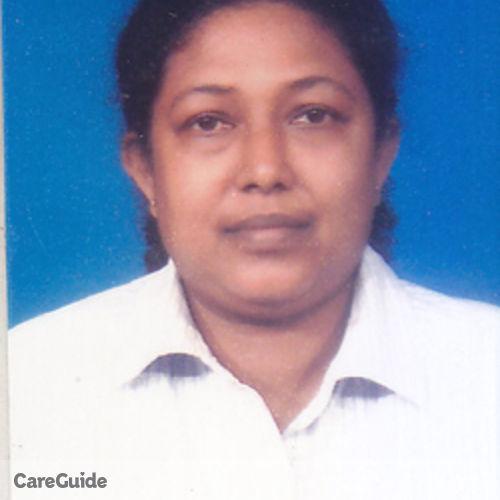 Canadian Nanny Provider A.M.J..eywardana. Kumari's Profile Picture