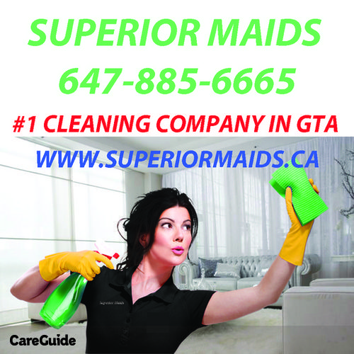 Housekeeper Provider Superior Maids's Profile Picture