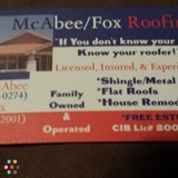 McAbee/Fox Roofing