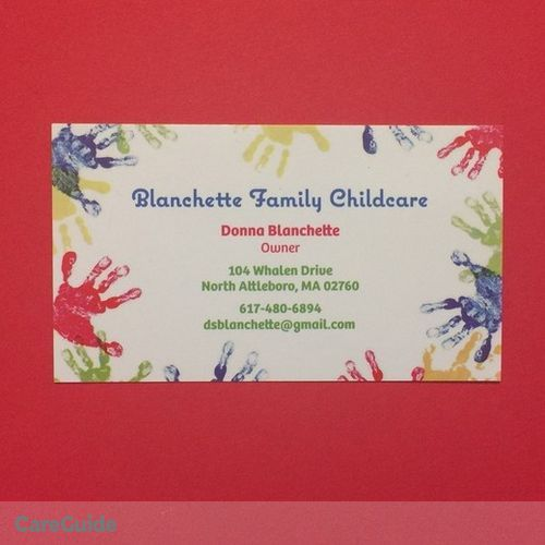 Child Care Provider Donna B's Profile Picture