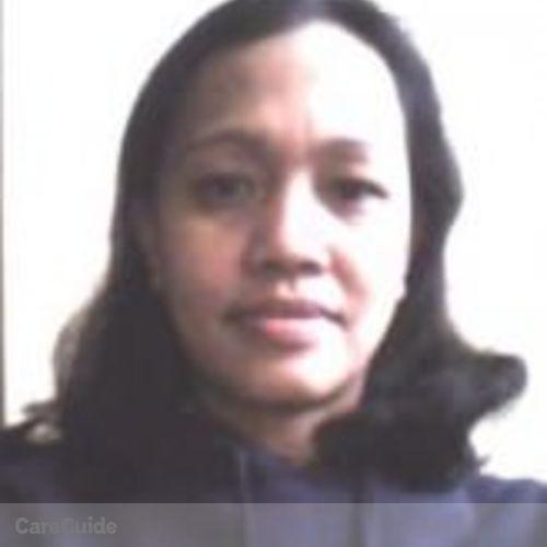 Canadian Nanny Provider Segundina P's Profile Picture