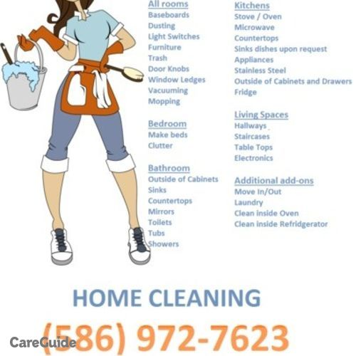 Housekeeper Provider Motor City Maids's Profile Picture