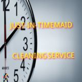 Just-in-timemaid cleaning service we're sure you'll be happy to working with us.