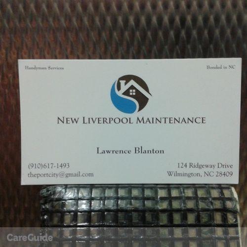 Handyman Provider Lawrence Blanton's Profile Picture