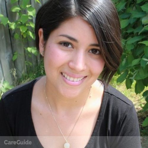 Canadian Nanny Provider Elisa Oyuela's Profile Picture