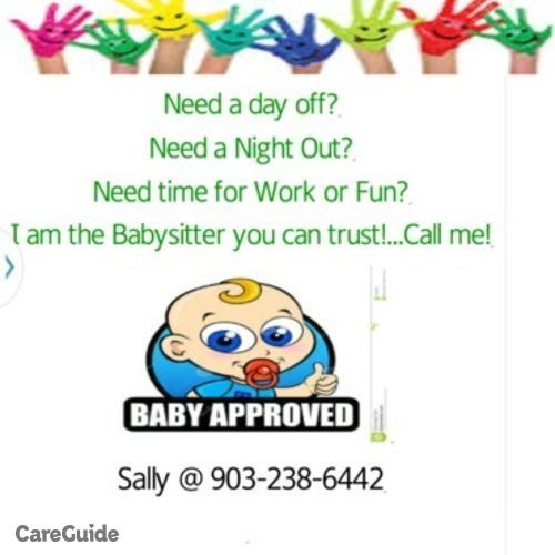 Child Care Provider Sally Parks's Profile Picture