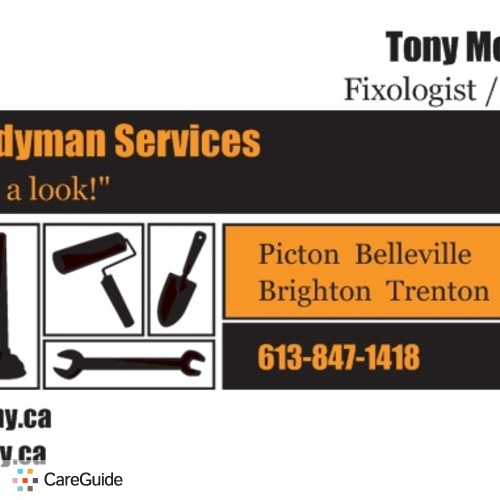 Handyman Provider Tony McCormack's Profile Picture