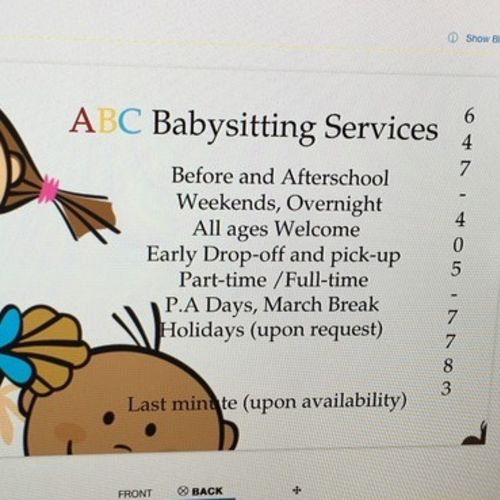 Child Care Provider Ana N Gallery Image 1