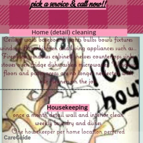 Housekeeper Provider Cierra Nowlin's Profile Picture