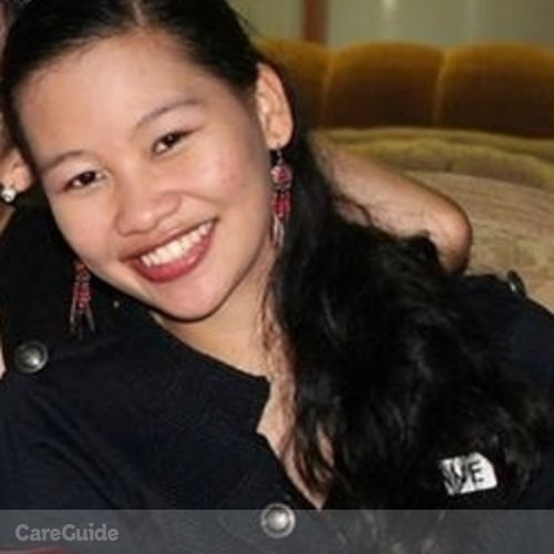 Canadian Nanny Provider Roxanne Mae Agustin's Profile Picture