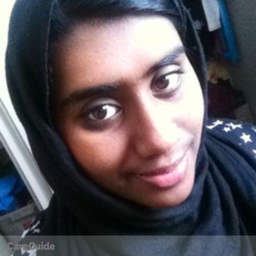Canadian Nanny Provider Rifah J's Profile Picture