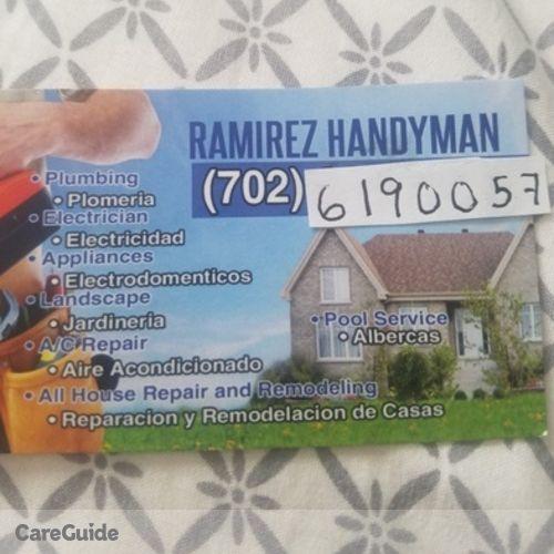 Handyman Provider Juan RamÍrez's Profile Picture