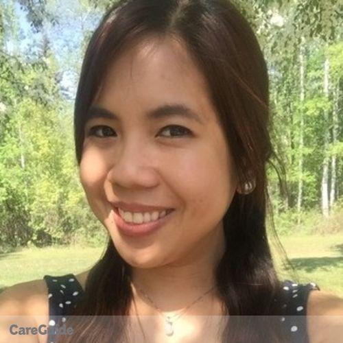 Canadian Nanny Provider Carmela R's Profile Picture