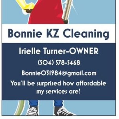 Housekeeper Provider Irielle Turner's Profile Picture