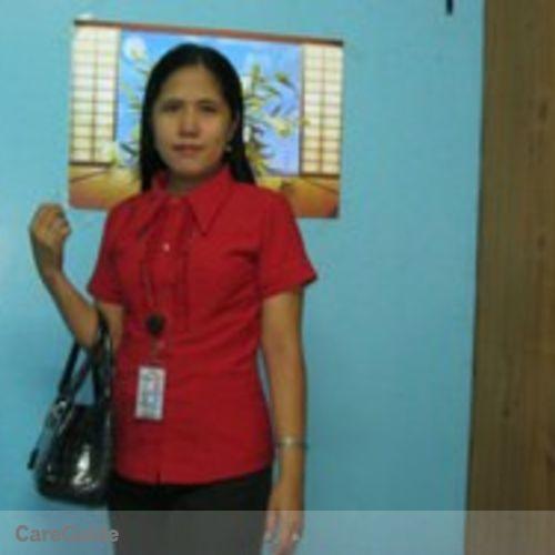 Canadian Nanny Provider Rubilyn P's Profile Picture