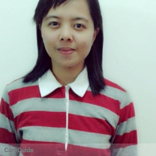 Canadian Nanny Provider Kristel Joy P's Profile Picture