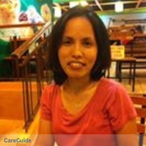 Canadian Nanny Provider Ma Gina Pabatang's Profile Picture