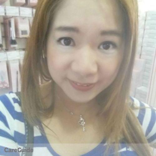 Canadian Nanny Provider Angela Chien's Profile Picture