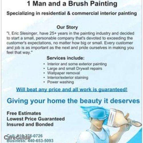 Painter Provider Eric Slesinger's Profile Picture
