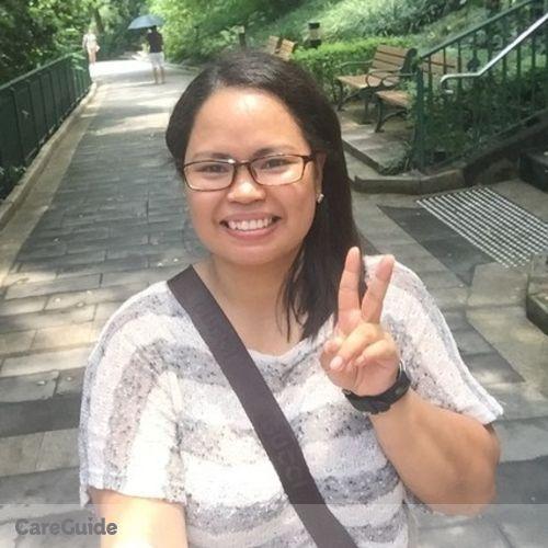Canadian Nanny Provider Christine Delima's Profile Picture