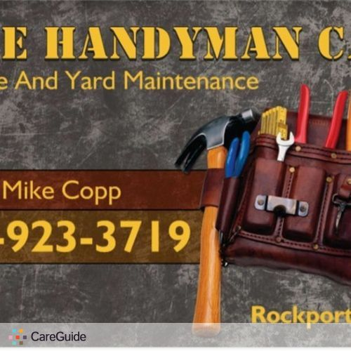 Handyman Provider Mike Copp's Profile Picture
