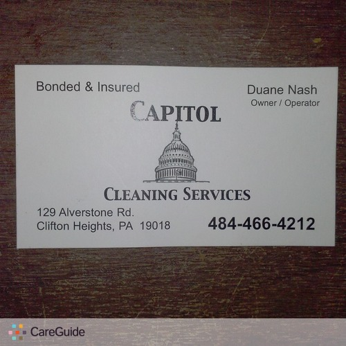 Housekeeper Provider Capitol Cleaning Services's Profile Picture