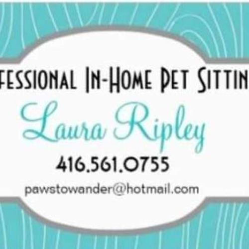 Pet Care Provider Laura Ripley Gallery Image 1