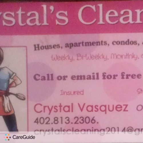 Housekeeper Provider Crystal Vasquez's Profile Picture