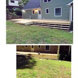 Deck and roofing
