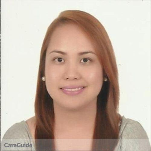 Canadian Nanny Provider MariaBernadette Celestino's Profile Picture