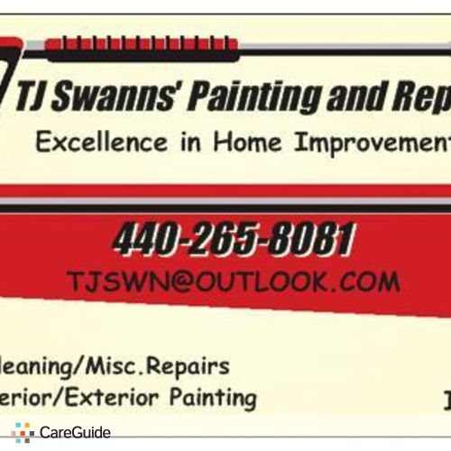 Painter Provider Thomas Swann's Profile Picture
