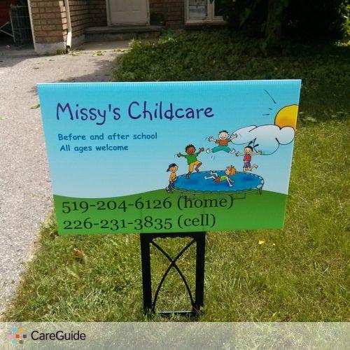 Child Care Provider Missy Mantje's Profile Picture